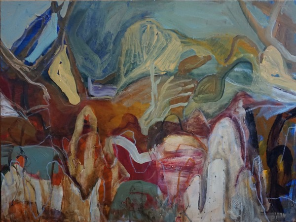 Outback Garden acrylic on canvas, 76 x 102 cm