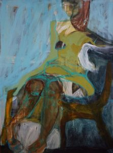 Repose acrylic on canvas, 102 x 76 cm