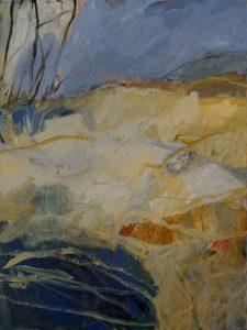 Sugarloaf bay, acrylic on canvas, 101 x 76 cm