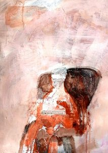 Talac, acrylic on paper, 42 x 30cm