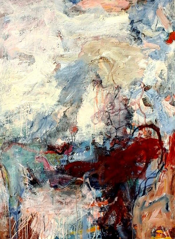 Veneziana acrylic on canvas, 122 x 92cm