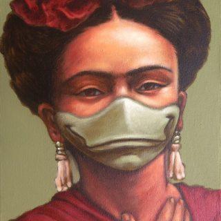 Fridakwek, acrylic on canvas, 40x30cm