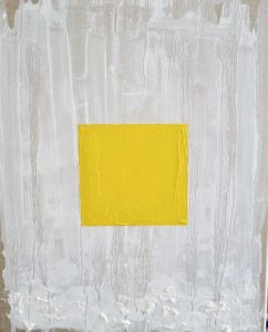 Flavo oil on linen, 30 5 x 38cm