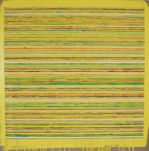 Flumen oil on linen, 76 x 76cm