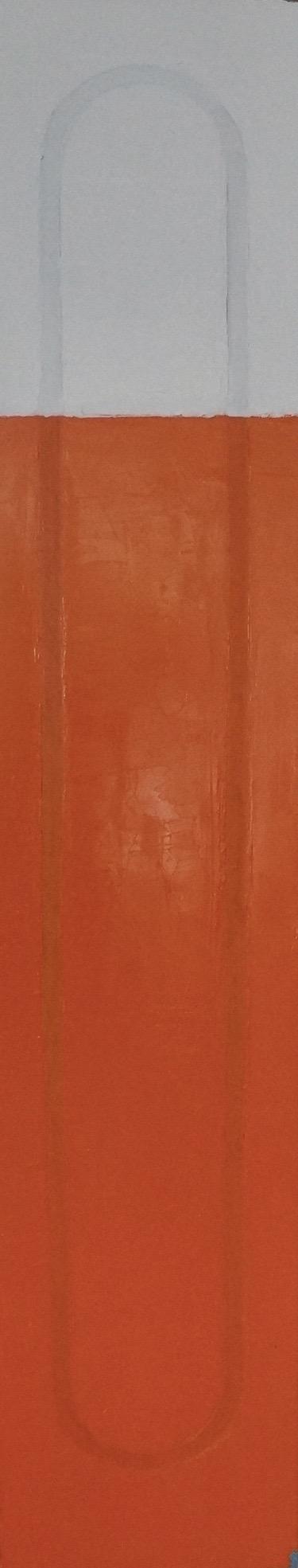 Ligo 1 oil on linen, 30.5 x 152cm