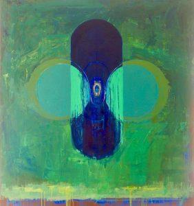 Open oil on linen, 97 x 107cm