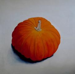 Pumpkin No 11, oil on linen, 84 x 84cm