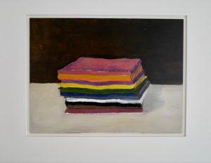 Stack, oil on panel, 46 x 57 (framed)