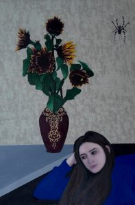 Where are you, oil on linen, 83 x 126cm