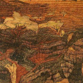 Desert night ink on paper, 21 x 29 7cm