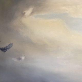 A New Dawn, oil on camvas, 102 x 77cm