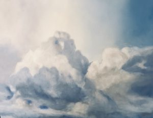 Before the storm oil on canvas, 50 x 61cm