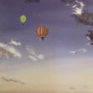 Dawn, oil on canvas, 30 x 30cm