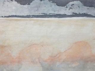 Double Landscape ii, mixed media on paper, 79 x 107cm