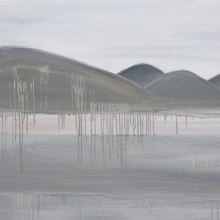 Morning Fog, oil on canvas, 92 x 122cm