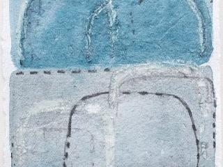 Shifting Landscapes VI, mixed media on paper, 29 x 21cm