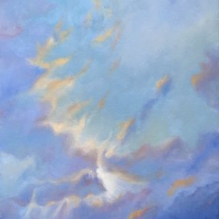 Shining Through, oil on canvas, 61 x 51cm
