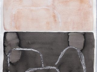 Spirit iii, mixed media on paper, 80 x 61cm