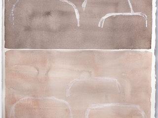 Spirit vi, mixed media on paper, 80 x 61cm