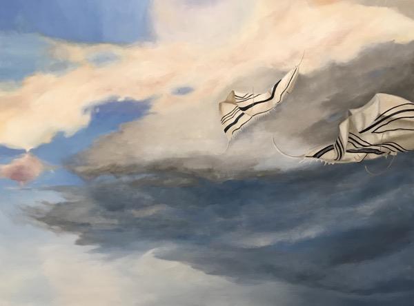 Taleisim, oil on canvas, 72 x 102cm