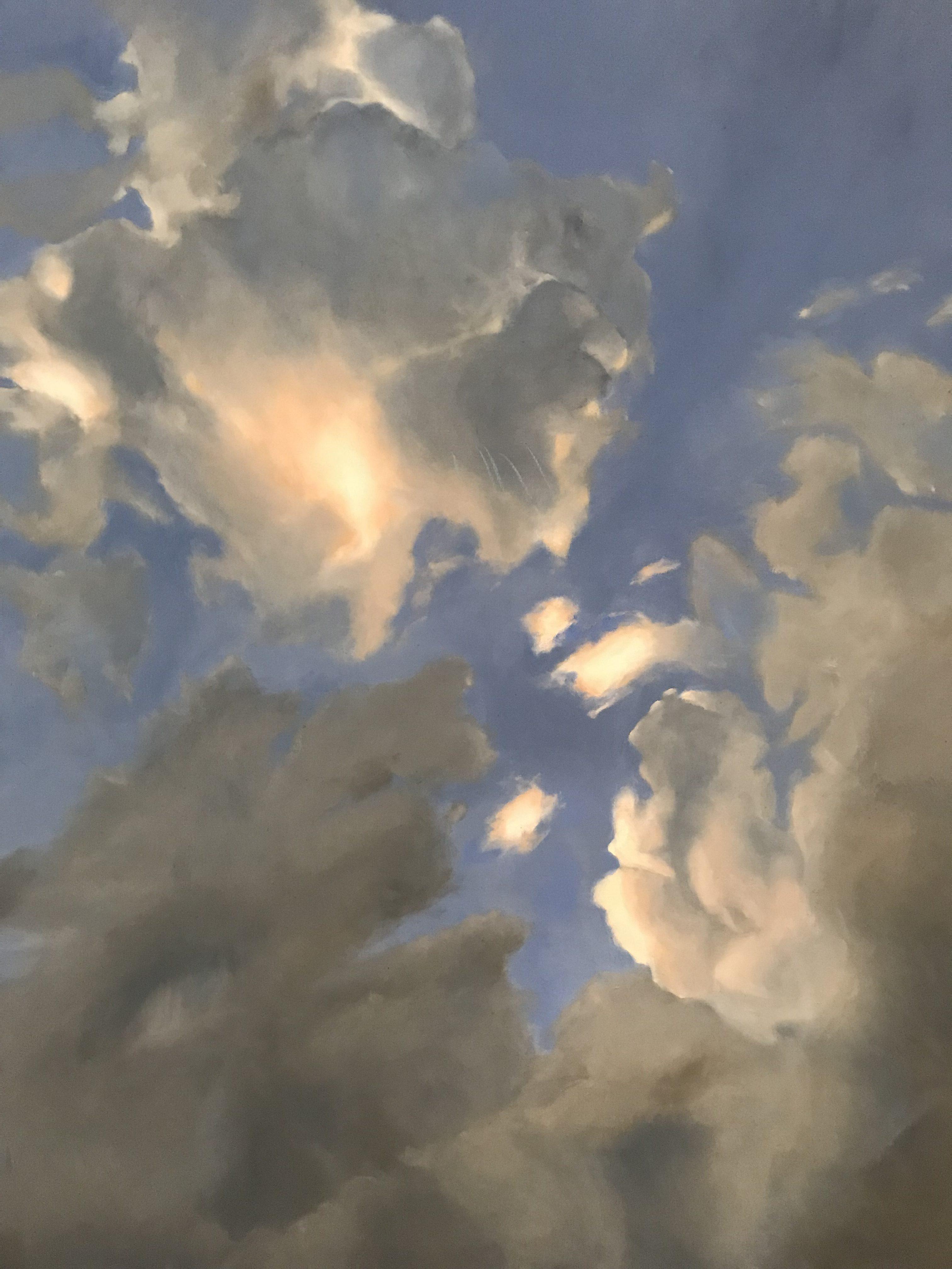 Where The Light gets in, oil on camvas, 77 x 102cm