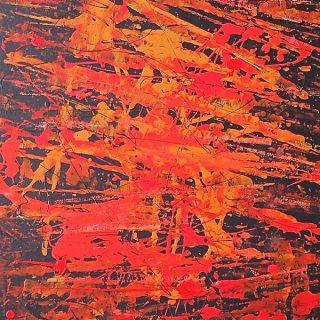 Fire Dancers #3, acrylic on canvas, 61 x 91cm