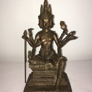 Rama 1 (Thailand), bronze, 52 x 15cm