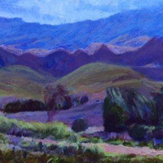 Riviersonderend mountains, oil on canvas, 61x 91cm