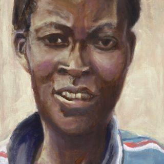 Tanzanian Mother, oil on linen, 91 x 61cm