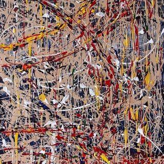 The Gaurdian, mixed media on canvas, 122 x 61cm