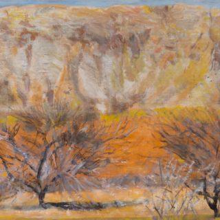 Through a Window, oil on canvas, 61 x 92cm