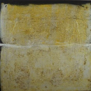 Hemispheres of Reason, acrylic & mixed media on canvas, 90 x 100cm