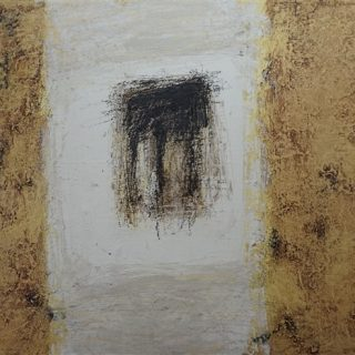 Portal, acrylic and mixed media on canvas, 52 x 63cm