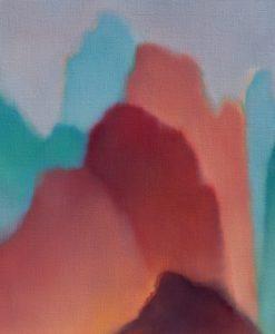 Uninhabited space no 12, oil on linen, 51 x 61cm copy