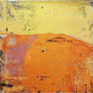 Land From Afar 1, acrylic on canvas, 60 x 60cm
