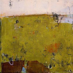 Land from afar 2, acrylic on canvas, 60 x 60cm