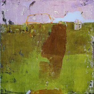 Land from afar 3, acrylic on canvas, 60 x 60cm