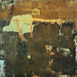 Land From Afar 5, acrylic on canvas, 60 x 60cm