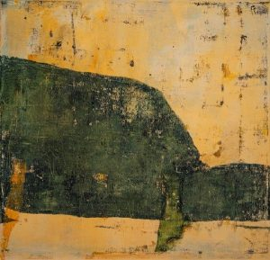 Land from afar 6, acrylic on canvas, 60 x 60cm