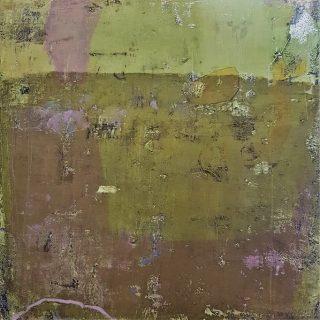Purple Haze, acrylic on canvas, 80 x 80cm