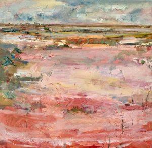 Claypan ii, oil on linen, 64 x 64cm