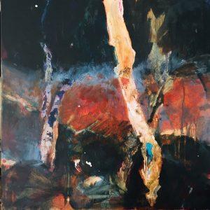 True survivors, acrylic on canvas, 61 x 61cm
